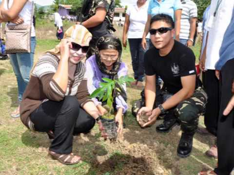 -TREE PLANTING With MAGUINDANAO NATIONAL HIGH SCHOOL and 45th INFANTRY BATTALION PHILIPPINE ARMY