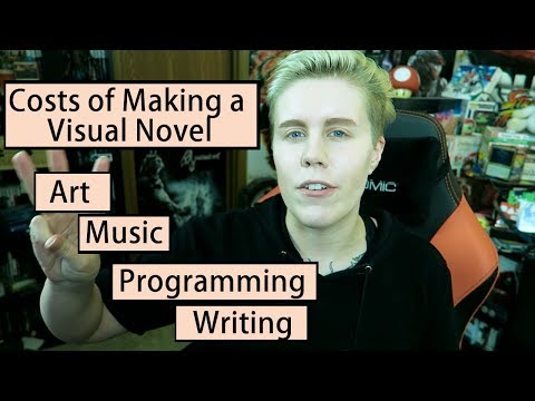 How Much Does it Cost to Make a Visual Novel?   Making a Visual Novel