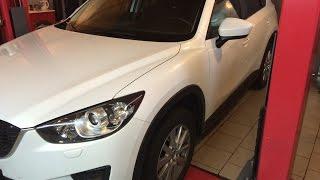 Как поменять масло Mazda CX5