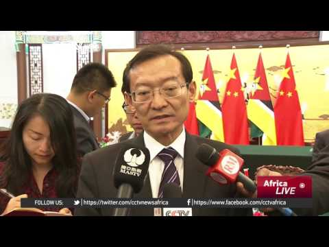 China- Mozambique relations: Mozambican President in China
