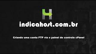 Como criar uma conta FTP no cPanel