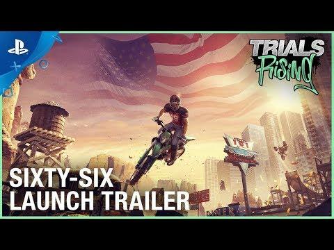 Trials Rising - Sixty Six DLC  Launch Trailer   PS4