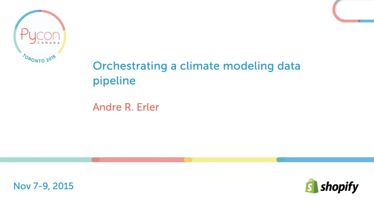 Image from Orchestrating a climate modeling data pipeline