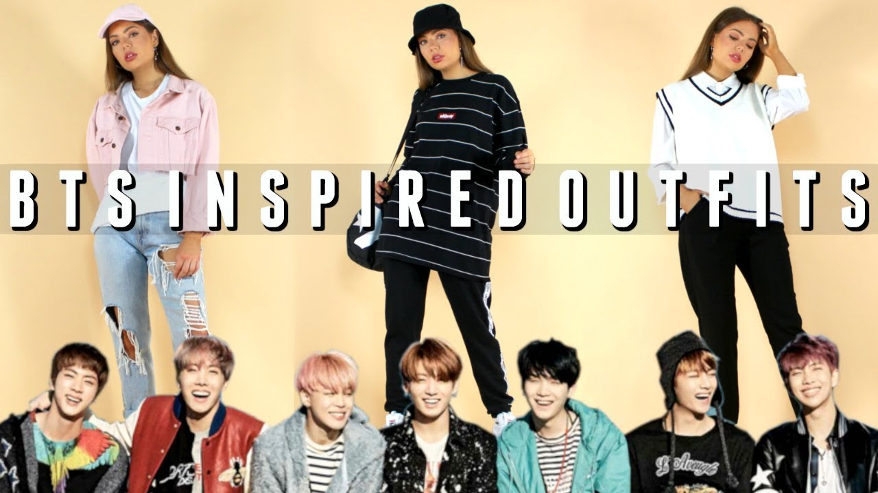 Bts Inspired Outfits Dressing Like Every Member Of Bts Youtube