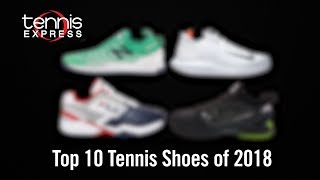 Top 10 Tennis Shoes of 2018 | Tennis Express