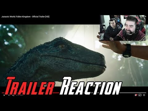 Download Youtube: Jurassic World: Fallen Kingdom Angry Trailer Reaction