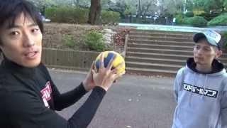 【ハンドボールの投げ方、ボールの握り方】HOW TO HANDBALL