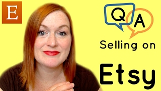Live Selling on Etsy Q & A - Etsy - Questions About Reselling on Etsy - Make Money Online
