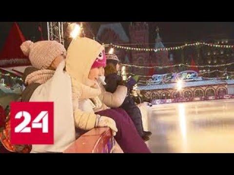 Каток у ГУМа в этом году оформят в стилистике мультфильмов - Россия 24