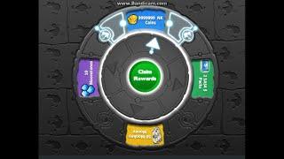 Wheel of Fate Winning 9999999 Coins