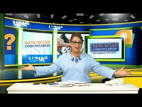 Las Denuncias comunitarias con Angelita Villaman en Luna Tv Canal 53