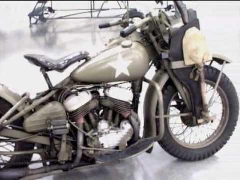 WW2 US Army Harley-Davidson - YouTube