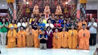 [祝賀師尊師母丙申年2016新春快樂影片] 印尼 - 圓果雷藏寺 Vihara Vajra Bumi Jambi