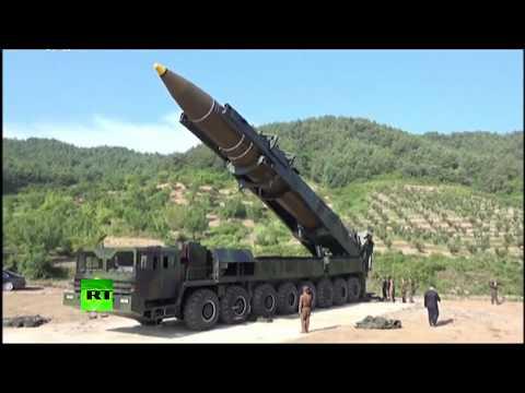 Опубликовано видео запуска КНДР межконтинентальной баллистической ракеты