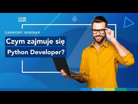 Webinar: Czym zajmuje się Python Developer?