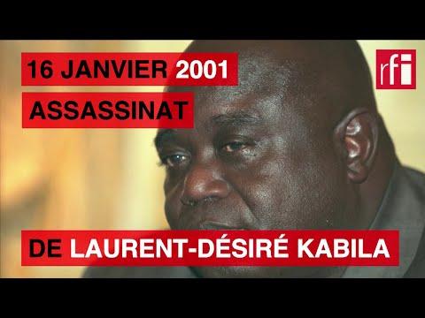 16 janvier 2001 : assassinat de Laurent-Désiré Kabila