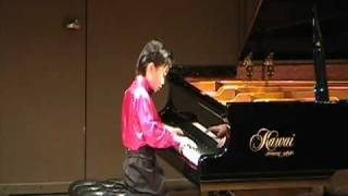 Ray Ushikubo (9) Plays Chopin Waltz in E flat Major Op.18 Grand Valse Brillante.