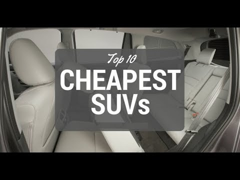 the-10-cheapest-suvs-for-2018
