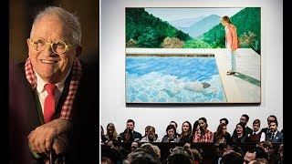 David Hockney, 81, smashes record for living artist with $90M painting - Daily News