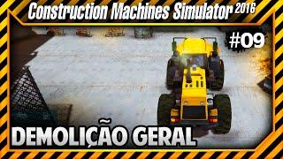 Construction Machines Simulator 2016 - Demolindo uma Construção Antiga