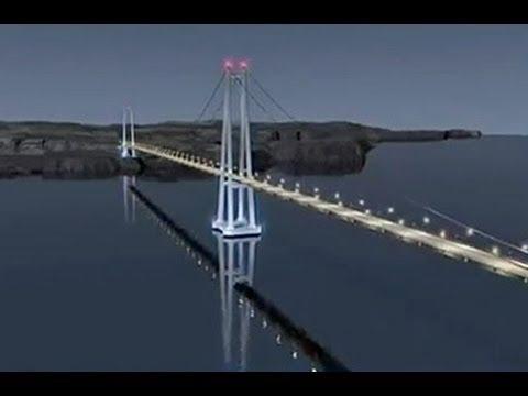Conoce el Puente sobre el Canal de Chacao