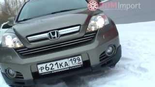 Honda CR-V 2008 год 2.4 л. 4WD от РДМ-Импорт(видео обзор свежепоступившей в продажу бронзовой полноприводной Хонды СРВ 2008 года с двигателем два и четы..., 2014-11-17T13:34:28.000Z)