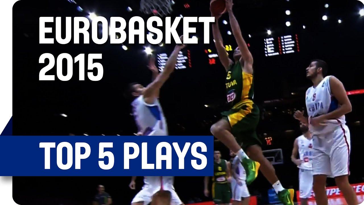 Top 5 Plays - Semi-Finals (Day 12) - EuroBasket 2015