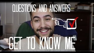 GET TO KNOW ME | Q&A | TheGentlemansCove