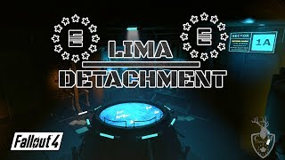 Fallout 4 - LIMA DETACHMENT - EPIC ENCLAVE HOME w/ Quest