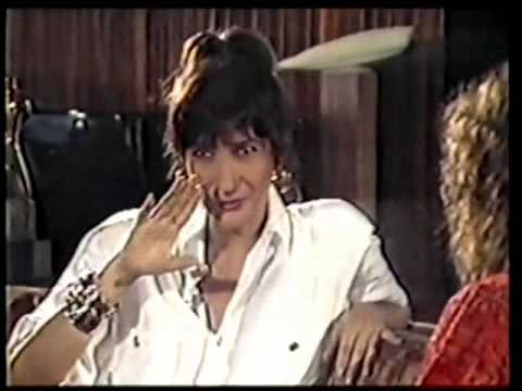 Zizi Possi - Entrevistada por Milena Ceribeli ( Especial ' Perigo ' ) TV Manchete 1986