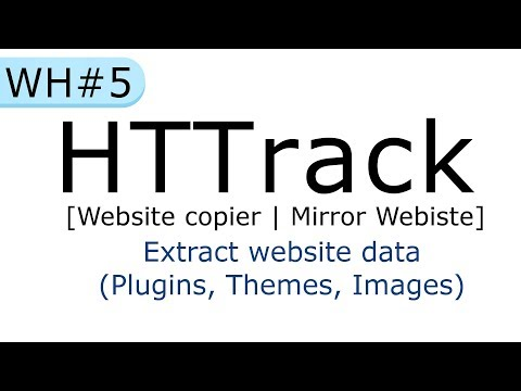HTTrack Website Copier : How To Clone Any Website? | Extract Website Data [in Hindi]