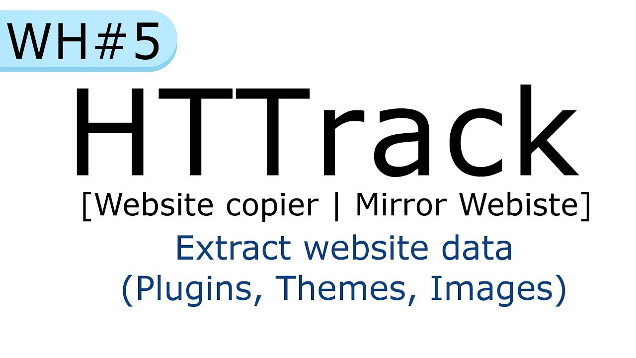 Extract colors website - Httrack Website Copier Mirror A Website How To Extract Website Data In Hindi