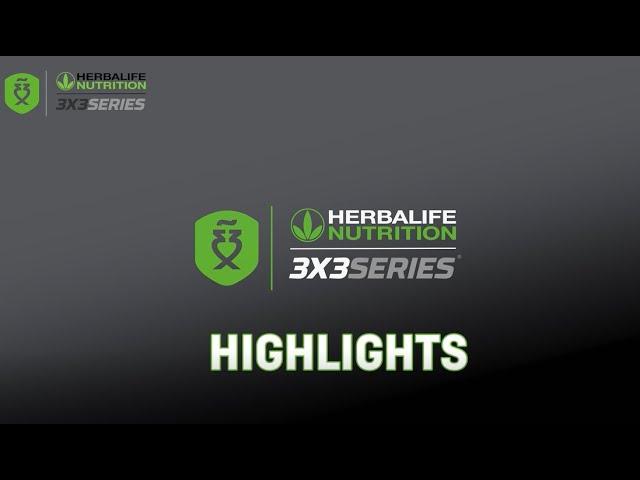 Top 3 mejores jugadas cuartos final de chicos Zaragoza Open Herbalife 3x3 Series 2021