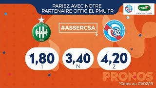 AS Saint-Etienne-Racing (J23 Ligue 1 18/19) : les clés du match avec PMU.fr