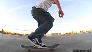 Ethernal Skate Films / Vincent Letellier @ The Ghetto Spot  / Skateboarding Street Spot Laval (RIP)