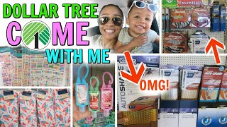 COME WITH ME TO DOLLAR TREE! WALMART AUTO FINDS! NEW ITEMS AND MORE!