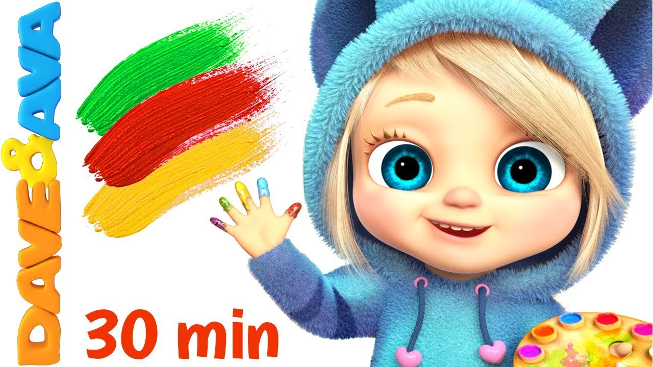 Baby Songs Finger Family Colors Nursery Rhymes For Kids