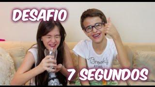 Desafio 7 segundos - Carol Santina e Rick Santina