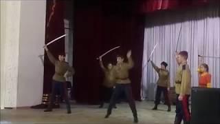 """Танец участников клуба """"Казачья слава"""" под песню """"Русь молодая"""""""