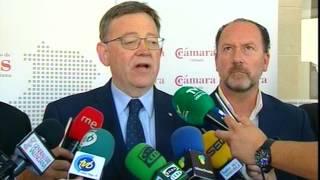 El Consejo de Cámaras de la Com. Valenciana se reúne con la presencia de Ximo Puig