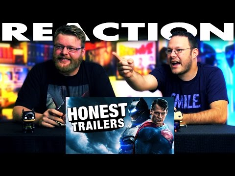 Honest Trailers Batman v Superman: Dawn of Justice REACTION!!