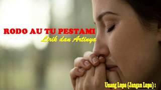 Lagu Batak - Ro Do Au Tu Pestami