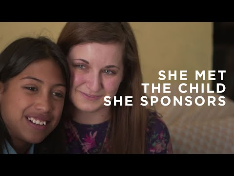 Compassion Graduate Receives a Surprise Visit From Her Sponsor - Compassion International