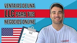 VENTAJAS DE UNA LLC EN USA PARA TUS NEGOCIOS ONLINE / VENDER EN AMAZON