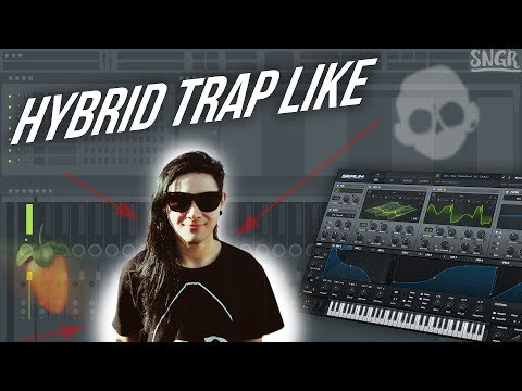 HOW TO MAKE A HYBRID TRAP DROP LIKE SKRILLEX