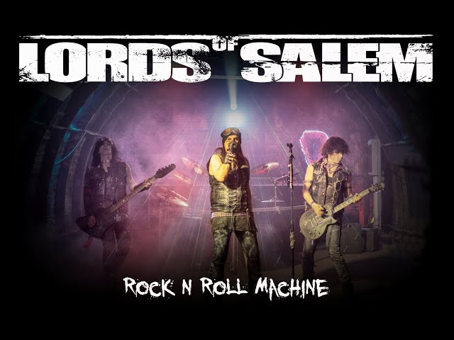 LORDS OF SALEM - Rock n Roll Machine - (Official Video)