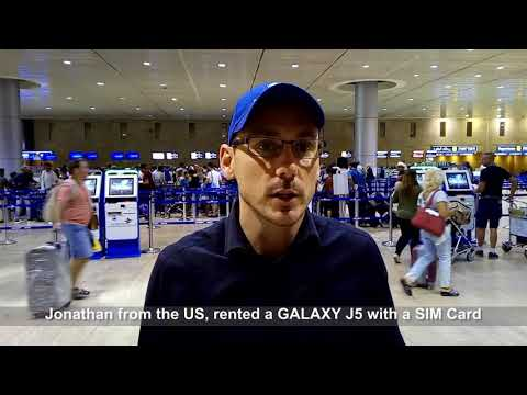 A Review By Jonathan - GALAXY J5 Rental With A SIM Card In Israel