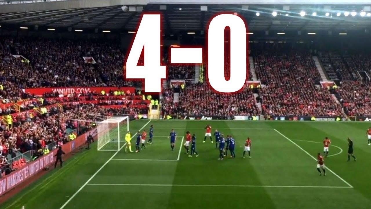 Manchester United vs Everton - 4-0, Premier League, 17.09 ...