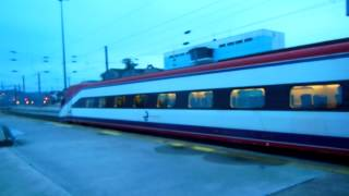 アキーラさん利用④高速列車アルファ・ペンドゥラール(AP)!ポルトガル・リスボン→ポルト!Alfa Pendular,Lisbon in Portgul to Porto