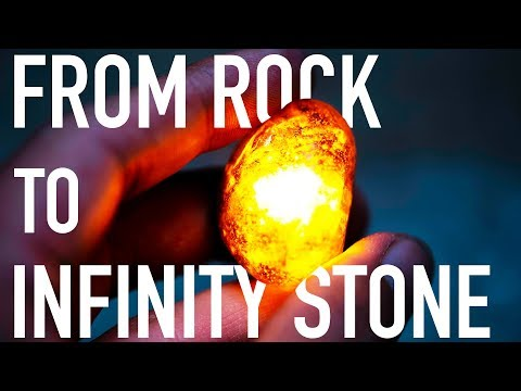 How To Make Infinity Stones From A Rock | DIY